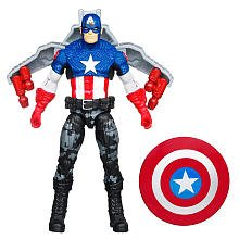 Captain America Movie 4 Inch Series 3 Action Figure #14 Night Mission Captain...