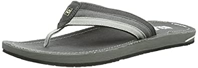 Jack Wolfskin  CRUISER MEN, tongs homme - Gris - Grau (dark steel), 39.5 EU
