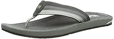 Jack Wolfskin  CRUISER MEN, tongs homme - Gris - Grau (dark steel), 43 EU
