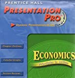 img - for 2001 Prentice Hall Economics Principles in Action Presentation Pro CD ROM book / textbook / text book