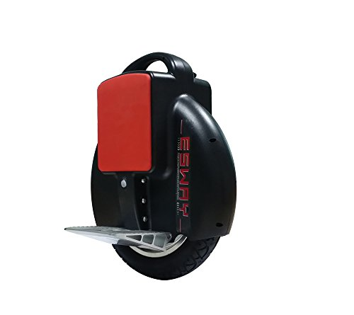 Chafon Esway 60V 130Wh Chargeable Solowheel Mars Wheel ,Self Balancing One /Single Wheel Electric Unicycle Scooter With Us Charger +Free 2 Pcs Chafon Nfc Tags Sticker-Black