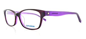 CONVERSE Eyeglasses Q011 Purple 53MM at Amazon Men's