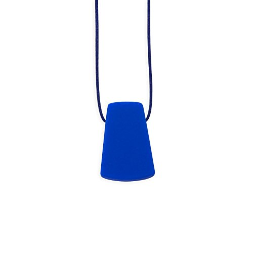 Chewable Silicone Trapezoid Necklace (Autism/sensory/SPD) Nontoxic - BPA and Phthalate Free - 1