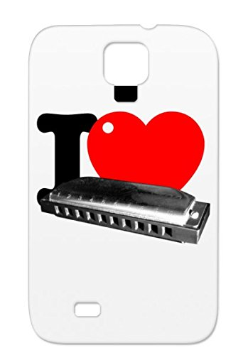 Jazz Rock Sax Music Microphone Blues Vintage Heart R B Harmonica Harp Love Tpu For Sumsang Galaxy S4 Red I Heart Harmonica Case Cover