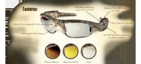 Predator Outdoor Products Ikam Xtrme 3.0 Video Eyewear Ap