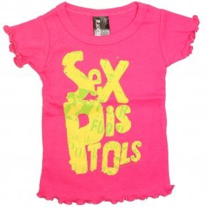 Sex Pistols - Baby Doll Style Toddler's Shirt
