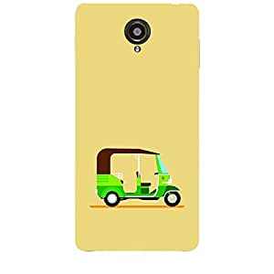 Skin4gadgets TUK-TUK RIKSHAW, Color - Khaki Phone Skin for SLATE 6 VOICE TAB