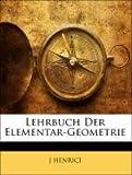 img - for Lehrbuch Der Elementar-Geometrie (German Edition) book / textbook / text book