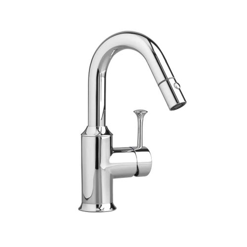 American Standard 4332.410.002 Pekoe Bar Faucet with Pull-Out Spray, Polished Chrome