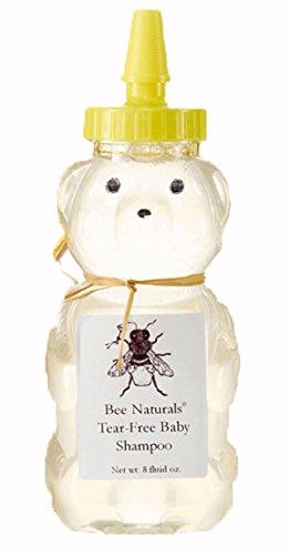 Bee Naturals Tear-Free Baby Shampoo - Keep the Tears Away - All Natural Baby Shampoo