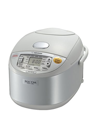 Zojirushi NS-YAC10WE Umami Micom 5.5-Cup Rice Cooker & Warmer