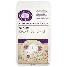 Doves Farm Gluten & Wheat Free White Bread Flour Blend 1KG