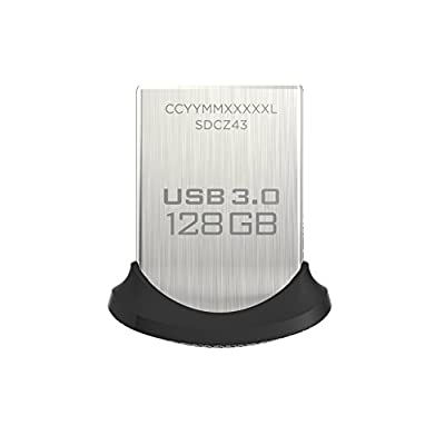 SanDisk Ultra Fit 32GB USB 3.0 Flash Drive (SDCZ43-032G-GAM46) [Newest Version]