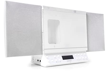Review and Buying Guide of Cheap  Microsystem Iphone/Ipod docking Station CD Radio USB SD MP3 Denver MCI-103 white