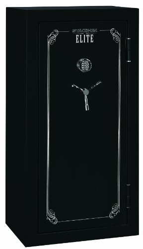 Gun Safe Stack On Elite 24 Gun Security Safe With Door Storage Electronic Lock Matte Black