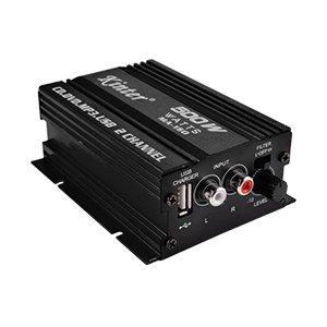HiFi Stereo Mini Auto Verstärker Amplifier 2 Kanäle 500W USB Anschluss f. Aufladung des Handys von Kinter bei Reifen Onlineshop
