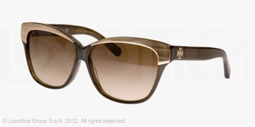 Tory Burch Tory Burch TY7046 Sunglasses - 735/13 Brown (Brown Gradient Lens) - 57mm