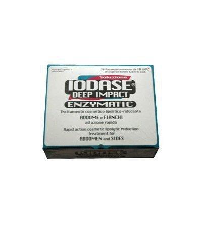 IODASE - DEEP IMPACT ADDOME E FIANCHI RIMODELLANTE 20 FIALE DA 10 ML