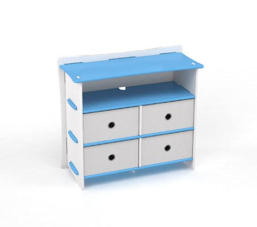Cheap Legare Kids 36″ Dresser Blue & White (DRBM-122)