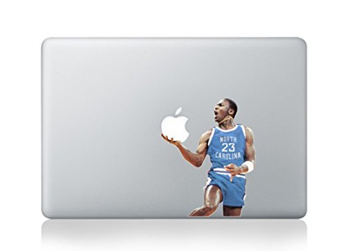 Michael Jordan Cartoon Character Decal Sticker for Macbook Laptop Air Pro Retina 13 13.3 Inch Cool
