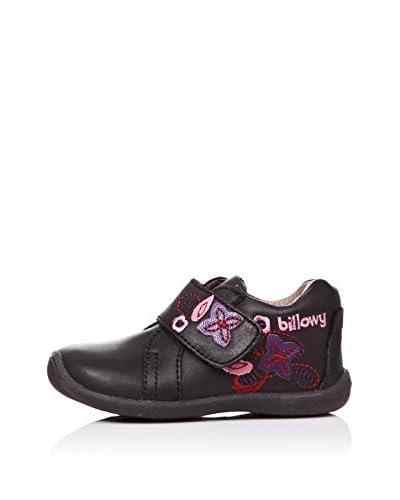 BILLOWY Zapatos Flores Negro