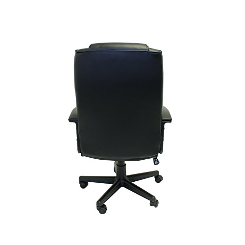 Aleko alc1723bl high back office chair ergonomic computer for Conference table 1998 99