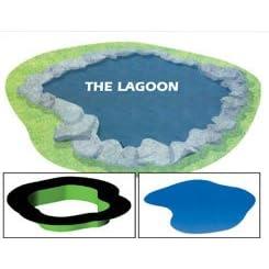 Preformed Flexible 30-mil PVC Ornamental Pond Liner - The Lagoon Mini - 83 Gallons