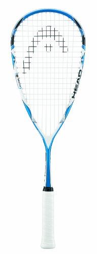 Head Microgel 125 Squash Racquet - Blue/White, Size 100