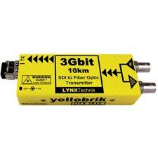 Yellobrik Otx-1812-Lc 3Gbit Fiber Optic To Sdi Transmitter - 10Km Lc Singlemode-By-Lynx Technik