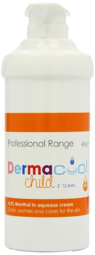 Dermacool 0.5% Pump Dispenser Menthol in Aqueous Cream 450g
