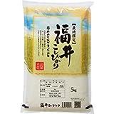 【出荷日に精米】 福井県産 コシヒカリ 白米 5kg 平成28年産 新米