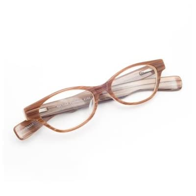 Pale Brown Reading Glasses (2.0)