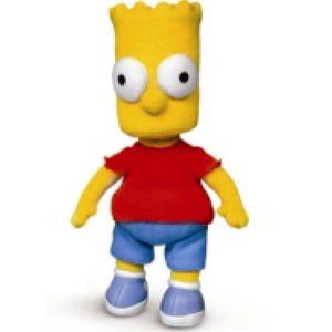Amazon.com: The Simpsons Bart Simpson Beanbag 8 inch Character [Toy