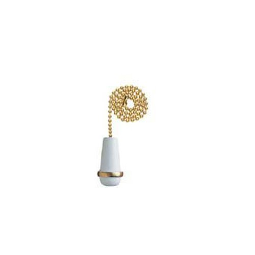 Westinghouse Lighting Corp 77009 12-Inch Cone Pull Chain, White (12 In Cones compare prices)