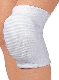 D&M knee supports 837 thick pads (25 mm) white (M)