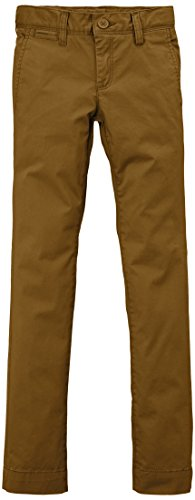 Teddy Smith - CHINO BOY STRET, Pantaloni per bambini e ragazzi, marrone (braun  (tobacco)), 16 anni (176 cm)
