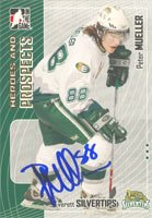 Peter Mueller, Everett Silvertips - WHL, 2006 In The Game Heroes and Prospects Autographed Card