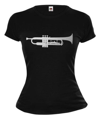 Girlie-T-Shirt-Trompete