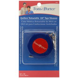 Fons and Porter 120-Inches Retractable Tape Measure