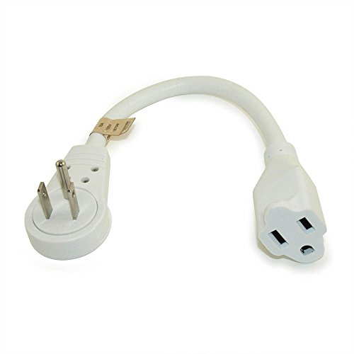 6 Quot Extension Cord With Flat 360 Degree Rotating Plug
