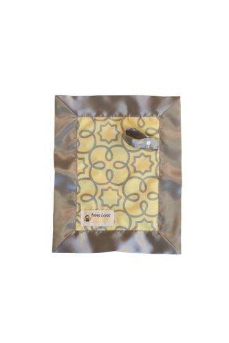 Babee Covee Budee Multi-Purpose Baby Blanket, Yellow/Grey