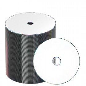 JVC-Taiyo Yuden DVD-R 120 min/4.7 Go 16x, Full printable White, 100 pièces en ECO-pack