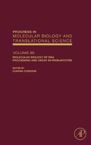 Molecular Biology Of Rna Processing And Decay In Prokaryotes, Volume 85 (Progress In Molecular Biology & Translational Science)