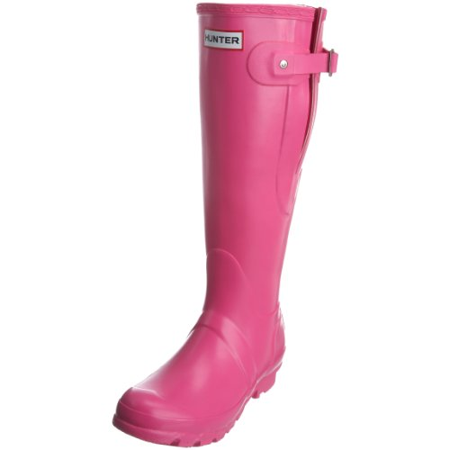 Hunter Unisex-Adult Original Adjustable Fuchsia Wellington Boot W23706 6 UK