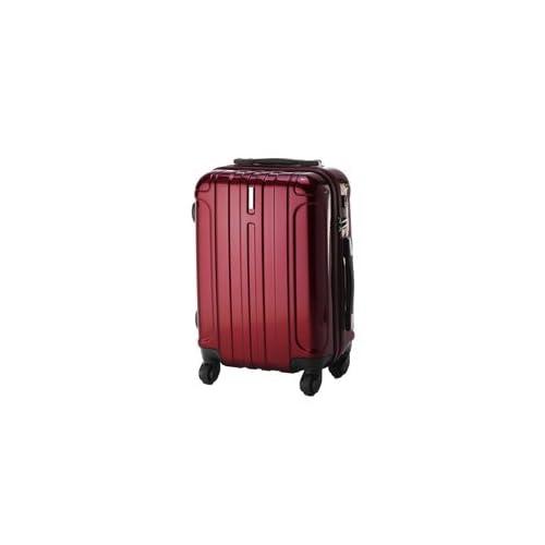 (ピジョール) PUJOLS スーツケース キャリー ハード 旅行かばん エース Ace [アイアンIII] 05722 3.レッド