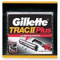 Gillette Trac II Plus Shaving Cartridges - 10 Cartridges (Gillette Trac Ii compare prices)