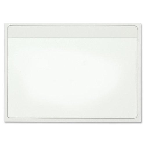 Cardinal HOLDit! Self-Adhesive 4 x 6-Inch Index Card Pockets, Clear, 100 per Pack (21160CB) (Plastic Index Card Display compare prices)