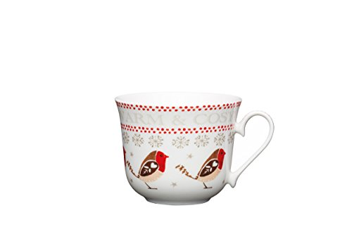 kitchen-craft-little-red-robin-chaud-et-confortable-en-porcelaine-mug-de-noel-450-ml-blanc