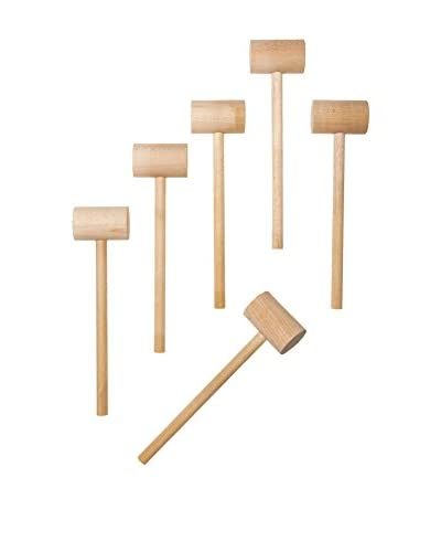 Set of 6 Crab Mallets