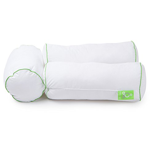 Sleep Yoga® Multi-position Body Pillow - Chiropractor-designed Cervical Pillow to Improve Posture, Flexibility, and Sleep Quality (Positioning Yoga compare prices)